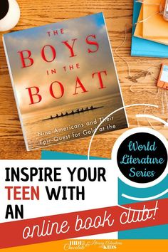 In this course, we'll read the book The Boys in the Boat by Daniel James Brown. As we are reading, we'll go on rabbit trails of discovery into history, geography, the international games & more. We'll find ways to learn by experiencing parts of the book through hands-on activities. At the conclusion of the story, we'll have a party school to celebrate this powerful memoir. Fun Reading Games, Reading Activities, Kids Reading, Hands On Activities, Reading Resources, Online Book Club, Books Online, Book Club Books, The Book