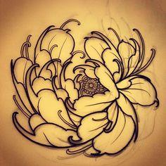 Another little peony! #tattoo #tattoos #tattooworkers #tattoosnob…