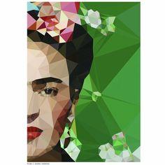 Studio Cockatoo frida crop art print