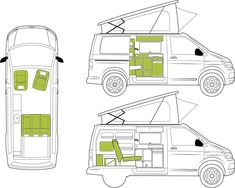 Van Conversion Shower, 4x4, Car Camper, Vw T, Offroad, Floor Plans, California, Adventure, Landing Gear