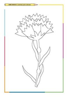 FLORES - Judy B - Picasa Web Albums Carnations, Zentangle, Flower Art, Back To School, Projects To Try, Sketches, Album, Quilts, Education