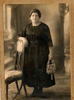 Palestinian woman (Badei'a Khoury), Safad, Palestine 1932