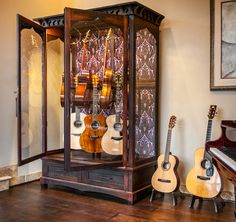 Custom Display for Fine Guitars | Joel Paul Design - Furniture Co.