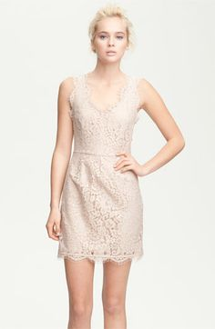 Joie 'Rori' Sleeveless Lace Dress