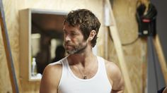 Howard Donald in tiny pants for new Take That video