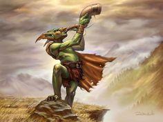 Goblin Blower by Ruzsi.deviantart.com on @deviantART