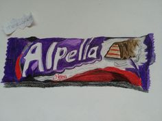 #drawing #3D #art #colors # draw #chocolate