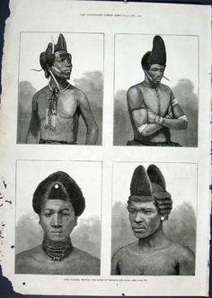 Hulu Dandies, Vintage Afro Hairstyles Porta de Tierra. San Juan, Puerto Rico