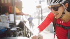 Bike vs Drive to work  creative shots through a story
