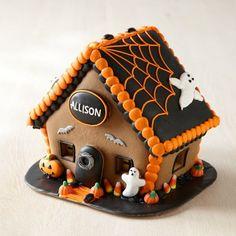 Halloween Gingerbread House | Williams-Sonoma: