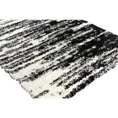 17 Stories Grantham Black/Neutral Area Rug Rug Size: Runner x White Area Rug, Beige Area Rugs, White Rug, Home Decor Trends, Home Decor Inspiration, Polyester Rugs, Black Rug, Contemporary Area Rugs, Rug Size