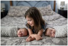 Mt Lebanon Family Photographer - Lifestyle Newborn Portraits - Pittsburgh Documentary Photography - Twin Newborn Session Pictures Photos - New big sister - twins baby announcement