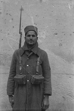 Spain - 1938. - GC - 15th International Brigade - Norman Lisberg, bataillon Lincoln-Washington, Décembre 1937