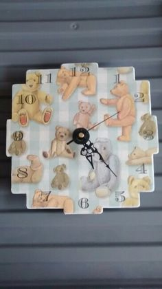 Clock for nursery