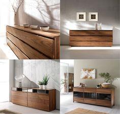 LEONARDO Collection sideboards by Arte Brotto #sideboard #walnut #find #now #city #heraklion #crete #Eco #Design #handmade #furniture #natural #walnut www.athinaikiepiplogrammi.gr