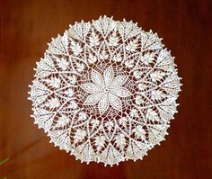 Vintage large white crocheted doily is round and in beautiful condition. This handmade crochet doily features a flower motif in the middle and is an excellent example of crocheted doilies with lovely detail. It's in excellent condition. Star Flower, Crochet Doilies, Large White, Flowers, Handmade, Beautiful, Vintage, Etsy, Hand Made
