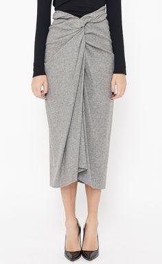 Dries Van Noten - Light Grey Skirt