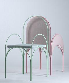 richard yasmine's pastel-hued collection is a nostalgic reflection of lebanese architecture