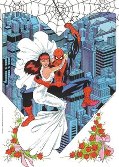 Spider-Man & Mary Jane by Carlos Pacheco
