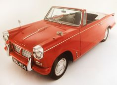 Triumph Herald Convertible. The oldest (earliest surviving) soft top in the UK. Built August 1960