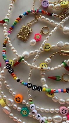 Cute Jewelry, Beaded Jewelry, Jewelry Accessories, Handmade Jewelry, Hippie Jewelry, Heart Jewelry, Beaded Bracelets, Pulseras Kandi, Ring Armband