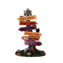 Lemax� Spooky Town� Collection Scary Road Signs