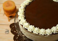 Tort cu lapte batut, mascarpone si caramel – La Ancuta Vanilla Cake, Caramel, Birthday Cake, Sweet, Desserts, Cakes, Food, Mascarpone, Sticky Toffee