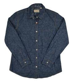 Weatherproof Vintage Mens Casual Button Down Shirt Reversible Blue Size S NEW #WeatherproofVintage #ButtonFront