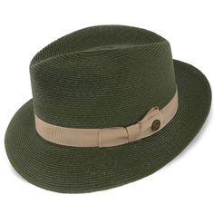 fcb21fb4c6e25 Tate Stetson Turquoise Hemp Braid Straw Fedora Hat