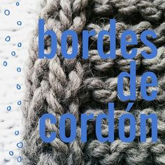 Una técnica fácil y útil para que tus tejidos sean más estables y no se enrollen: cómo tejer un cordón en los bordes del tejido a dos agujas. Además sirve pa... Casting On Stitches, Knitting Stitches, Soy Woolly, Knitting Help, Crochet Videos, Ravelry, Knit Crochet, Crochet Patterns, Tips