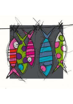 poissons de ligne