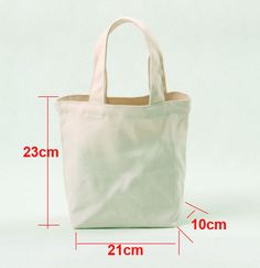 Details about DIY Eco Blank Canvas Makeup Bags personalized Plain Totes Kids shopping Bags This is plain white canvas bag for DIY. Product ranges: various blank canvas bags,pouches,cases. Bag Patterns To Sew, Tote Pattern, Leather Bags Handmade, Handmade Bags, Handmade Bracelets, Canvas Handbags, Canvas Tote Bags, Cotton Shopping Bags, Shopping Totes