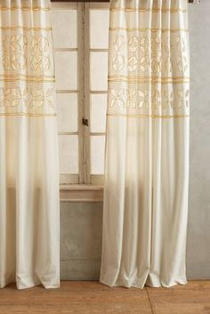 Anthropologie Dandelions Curtain #anthroregistry