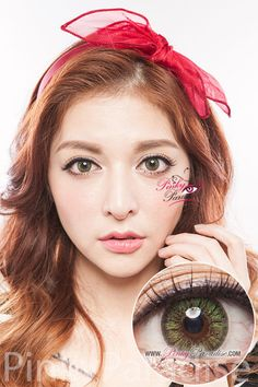 GBT Green Circle Lenses (Colored Contacts)