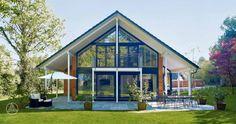 Individuell geplante Design-Architektur PlanMit Entwurf Architektur in Glas