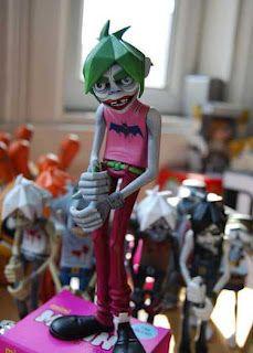 toycutter: Custom Vinyl Toy: If the Joker joined the Gorillaz