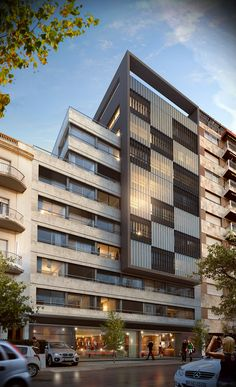 Hotel in Montevideo - 3d Visuals