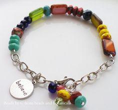 Sunshine bracelet from Botanicals and Beginnings blog