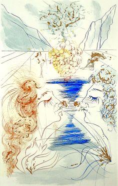 Salvador Dali, Song of Songs of Solomon, 1971