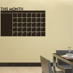 hot sell month chalkboard stickers home decoration 206L. black vinyl adesivos de parede nursery poster wall decal art poster 4.5