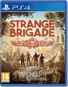 strange brigade ps4 - Google Search