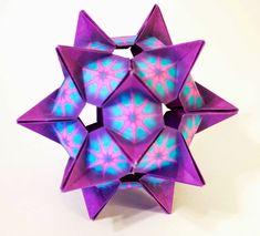 Will Fold For Paper!: Kusudama Crystal Star (design by Denver Lawson)