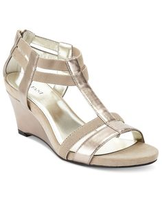 7cd5d708a0ba Aerosoles Shoes Bronze Age Wedge Sandals from Macy u0026 39 s (http