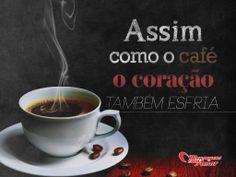 Assim como o café o coração também esfria.  #cafecomamor #cafe