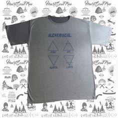 ADVENTURE ALQUIMIA Camiseta Masculina.