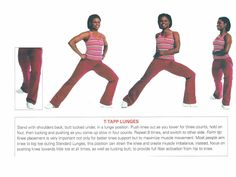 T-Tapp lunges