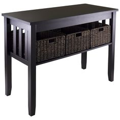 You'll love the Robbinston Console Table And Baskets at Wayfair - Great Deals on all Furniture  products with Free Shipping on most stuff, even the big stuff.