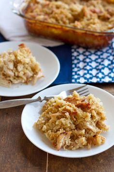 Chicken Recipes : Chicken and Rice Casserole Recipe