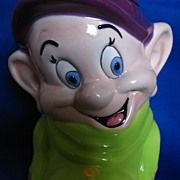 Dopey Cookie Jar by Disney