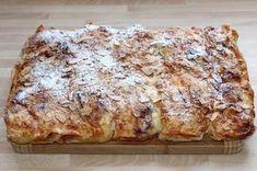 Török gyűrött rétes recept My Recipes, Cake Recipes, Cooking Recipes, Hungarian Recipes, Hungarian Food, Yummy Snacks, Nutella, Sweet Tooth, Bakery
